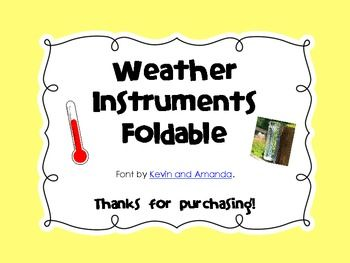 science notebook weather instruments foldable weather instruments science notebooks and. Black Bedroom Furniture Sets. Home Design Ideas