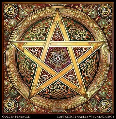 The Pentagram Is A Symbol Of A Star Encased In A Circle Always With