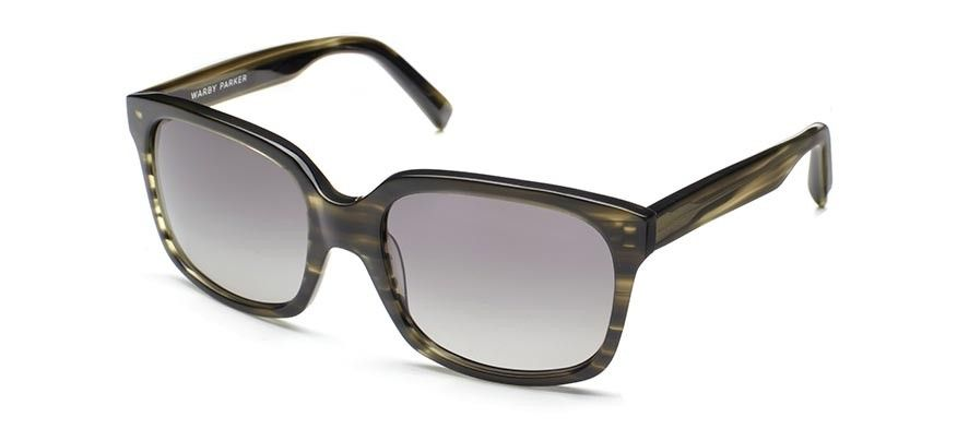 ef058c9084e Warby Parker Jules Striped Evergreen Sunglasses with polarized lenses. Buy  A Pair