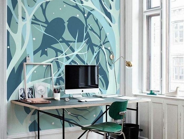 Decoration Murale Geante: Idées, Conseils Et Combinaisons En Photo