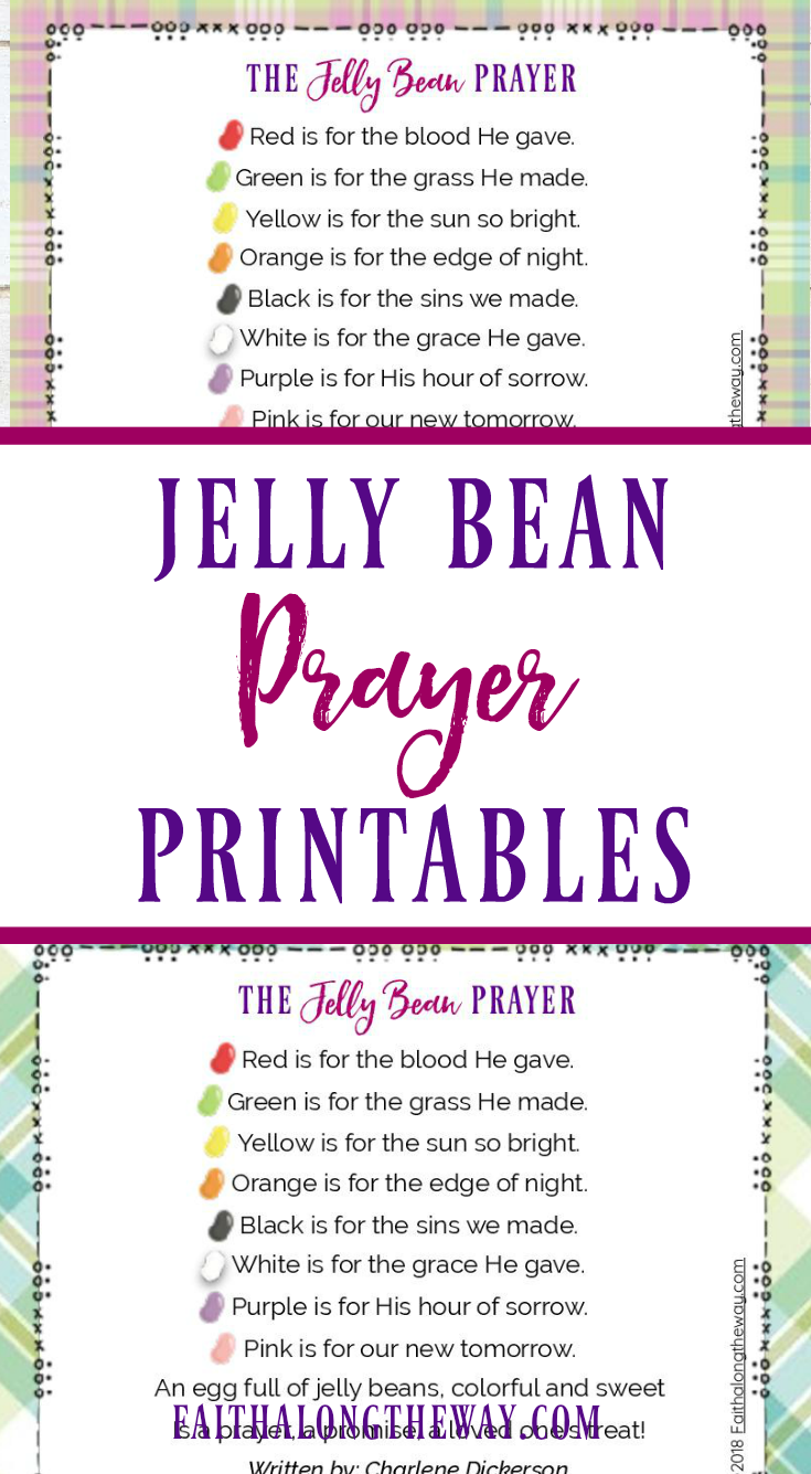 image relating to Jelly Bean Prayer Printable identified as How toward Retain the services of the Jelly Bean Prayer in direction of Prepare Little ones Regarding Easter