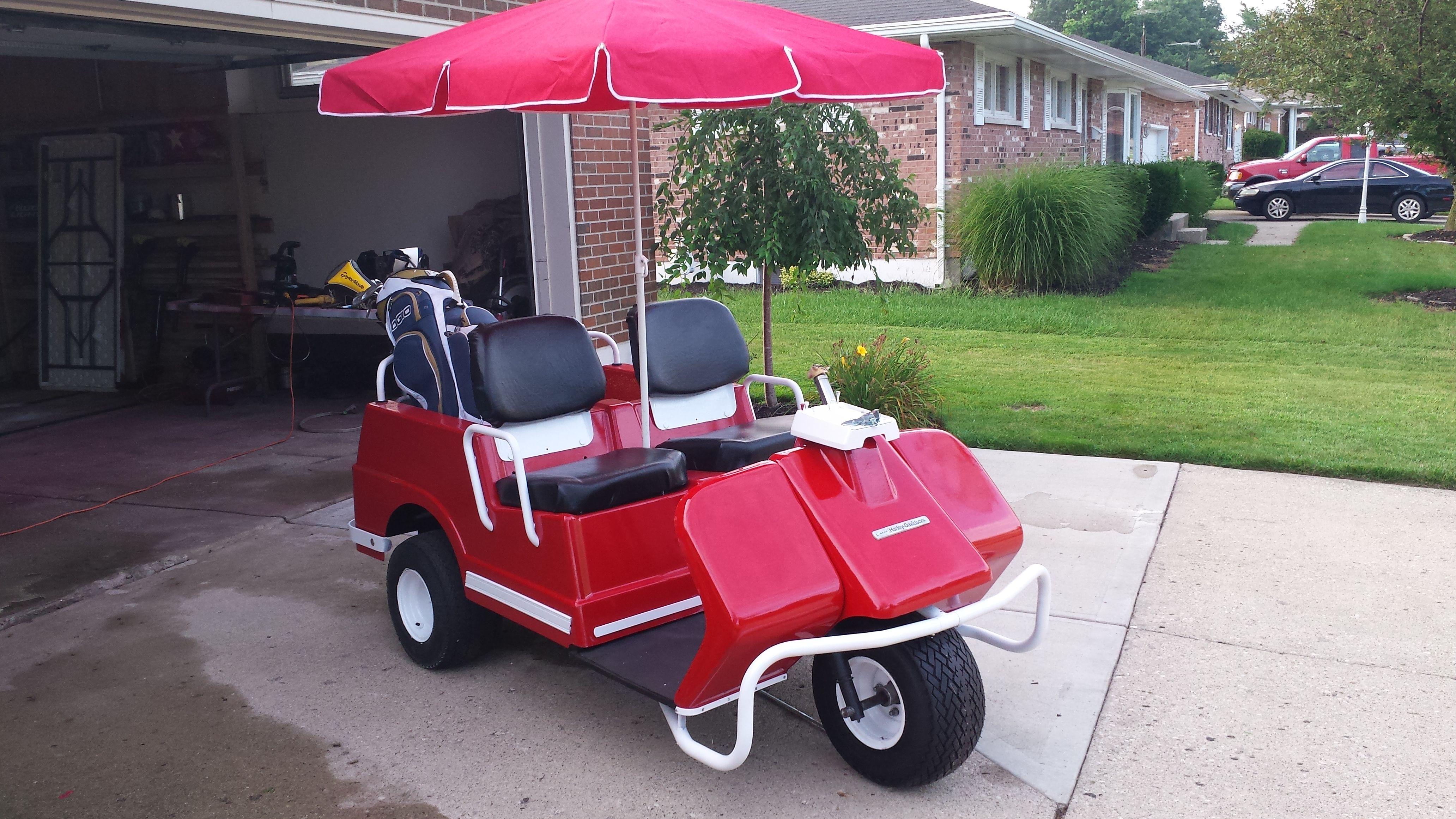 harley davidson golf cart seat set golf carts golf cart seats golf carts golf [ 4128 x 2322 Pixel ]
