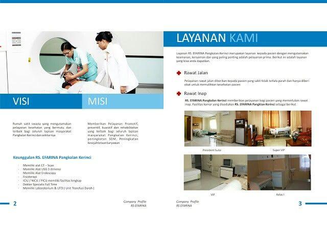 Desain Booklet Company Profile Rumah Sakit Oleh Tata Warna Yudi