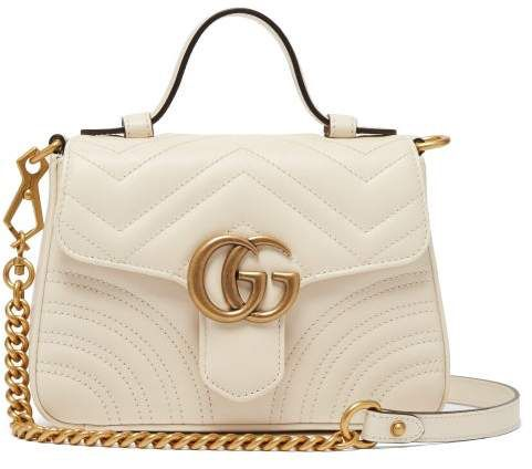 Gucci , Gg Marmont Quilted Leather Cross Body Bag , Womens