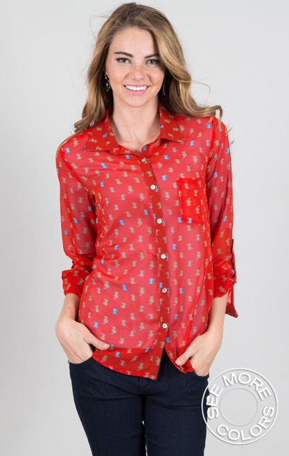Cat and Mouse Blouse