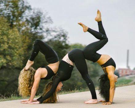 best yoga challenge trio 39 ideas yoga in 2020  yoga