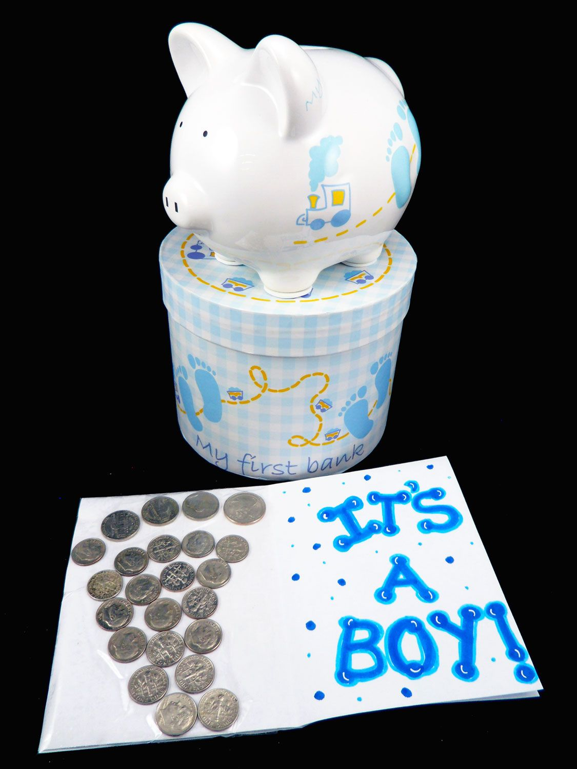 Piggy banks make awesome personalized baby gifts neat gift piggy banks make awesome personalized baby gifts negle Images