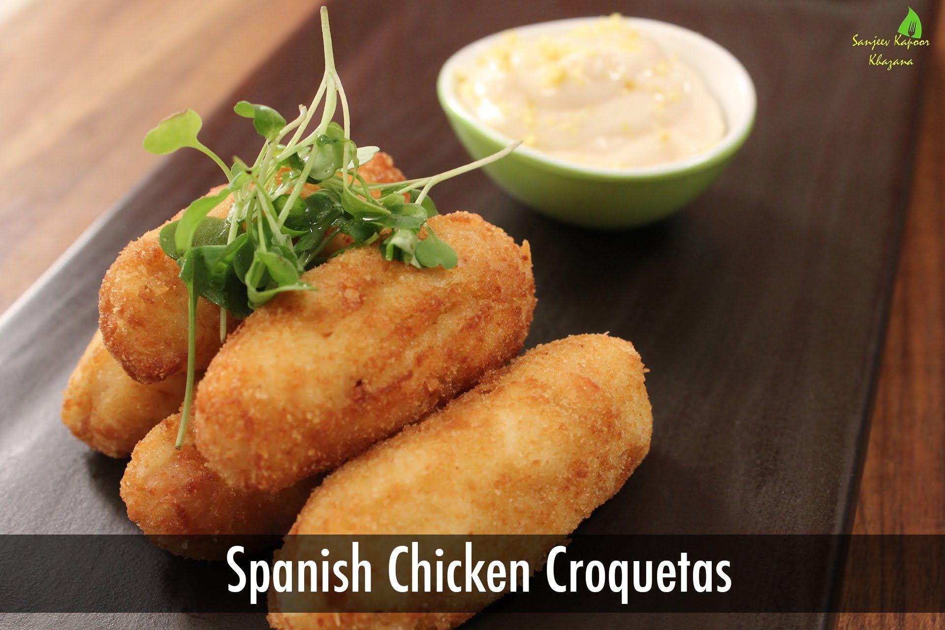 Spanish chicken croquetas sanjeev kapoor khazana welcome to alpa spanish chicken croquetas sanjeev kapoor khazana forumfinder Choice Image
