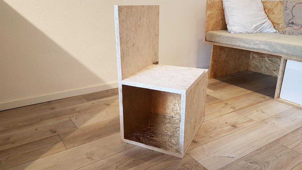 d ppken wei gold stuhl m bel selber bauen stuhl selber bauen bauen mit. Black Bedroom Furniture Sets. Home Design Ideas