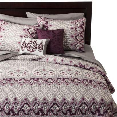 Ikat 5 Piece Jaiya Quilt Set - Plum | GG house ideas | Pinterest ... : plum quilt - Adamdwight.com
