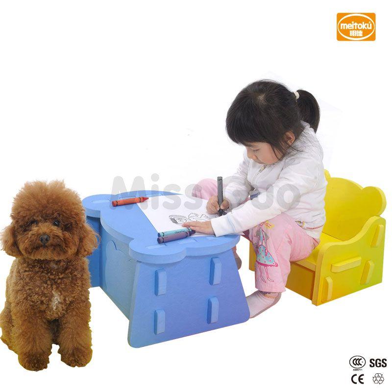 Meitoku Baby Sicherheit Schaum Kinder Tisch Und Stuhl Setnew Kids