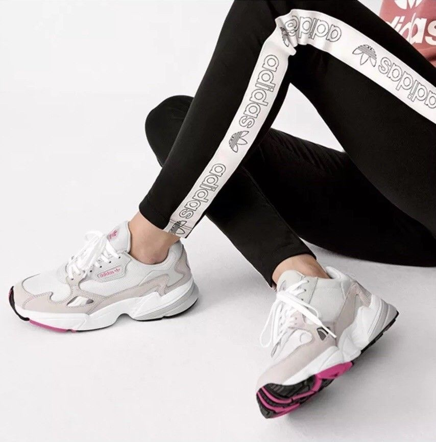 77b685caffe Kylie Jenner x Adidas Falcon Tape Leggings Size 8 Worn Once RRP 30  fashion   clothing  shoes  accessories  womensclothing  leggings (ebay link)