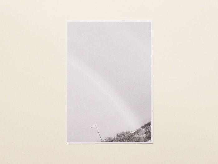 Rainbow Redux (Black & White Rainbow), by Lewis Chaplin
