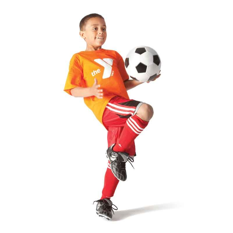 Ymca Soccer Players Head To Us Soccer Training Center Soccer Training Kids Soccer Sports