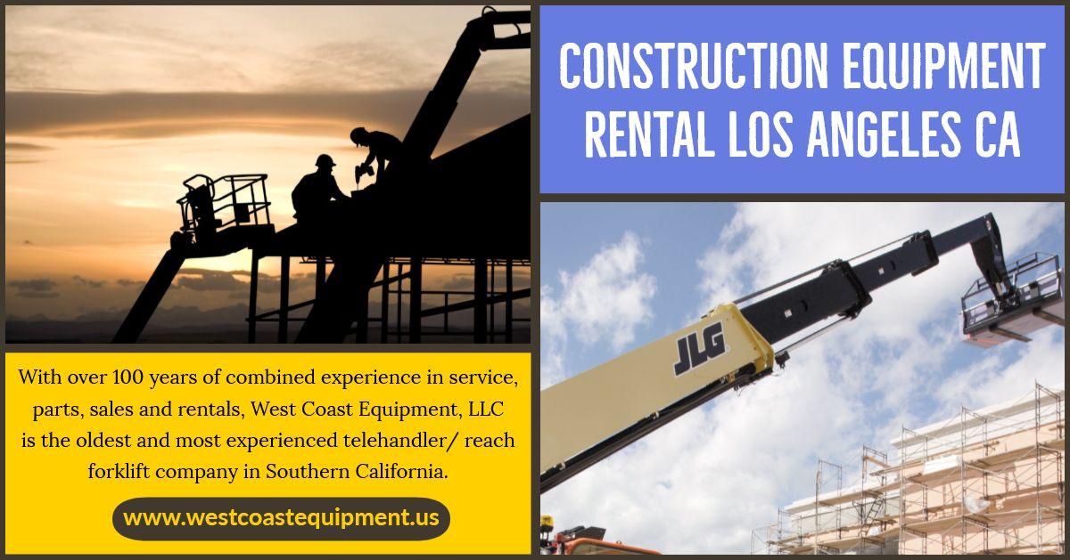 Construction Equipment Rental Los Angeles Ca Construction Equipment Boom Lift Rental