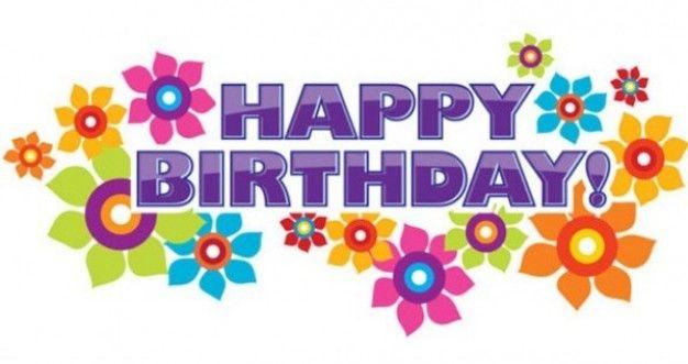 Birthday Clip Art Happy Birthday Text Happy Birthday Clip Art