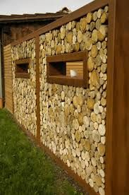 bildergebnis f r sichtschutz mit brennholz g rten pinterest holz brennholz und sichtschutz. Black Bedroom Furniture Sets. Home Design Ideas
