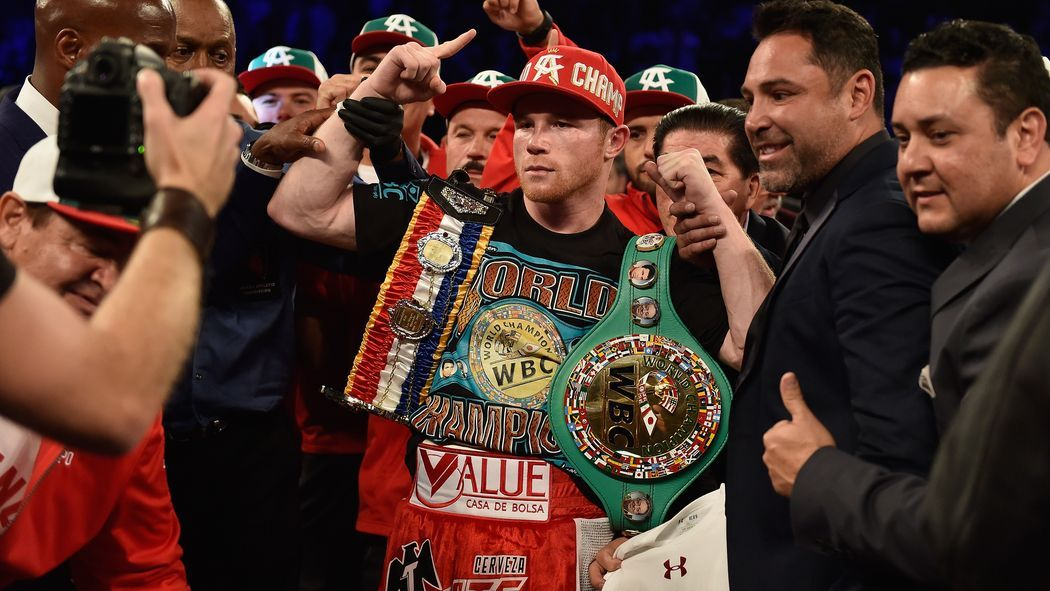 Canelo Alvarez scored a highlight reel knockout tonight, but it was one that just about everyone saw coming, too.