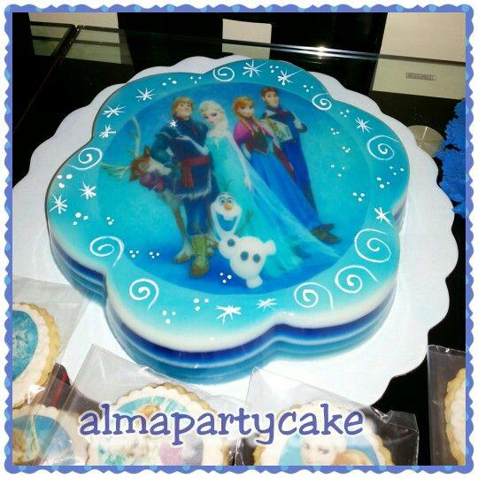 Gelatina de frozen tortas decoradas para cualquier - Moldes para gelatina ...