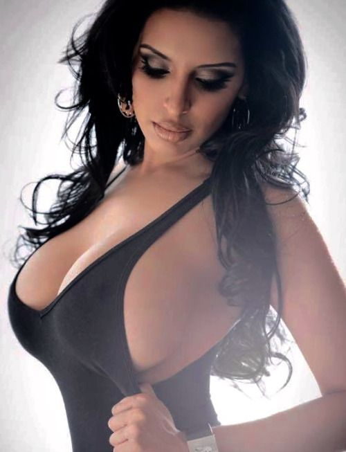 Hot busty latina babes