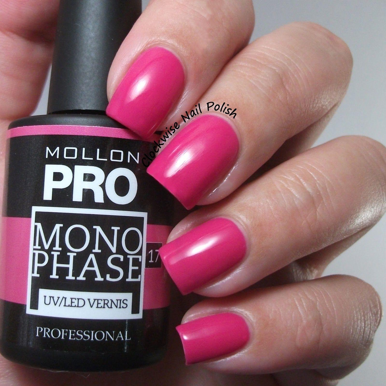 The Clockwise Nail Polish: Mollon Pro Monophase Kit - UV/LED ...