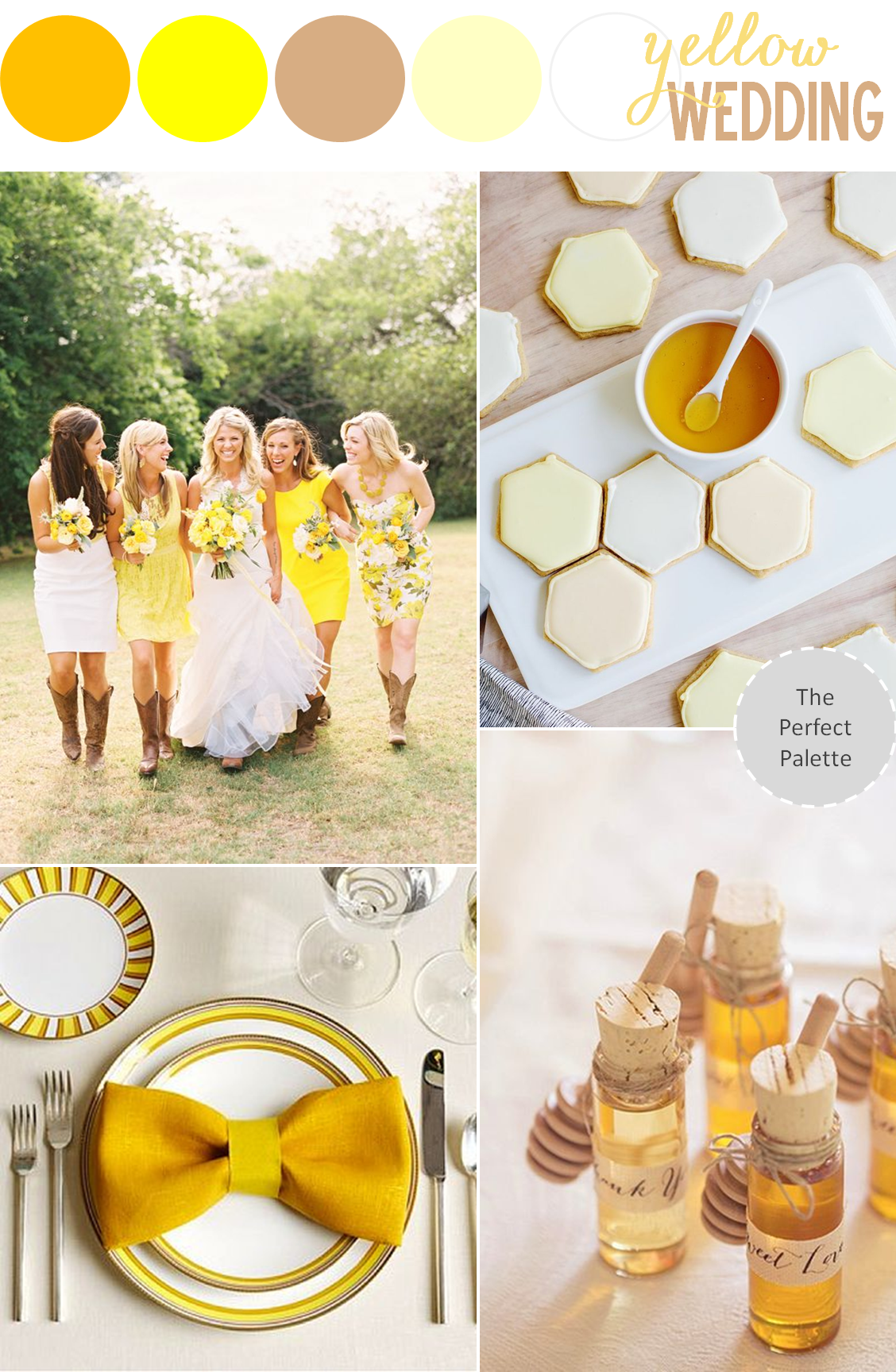 A Southern Soirée: Yellow Wedding Ideas