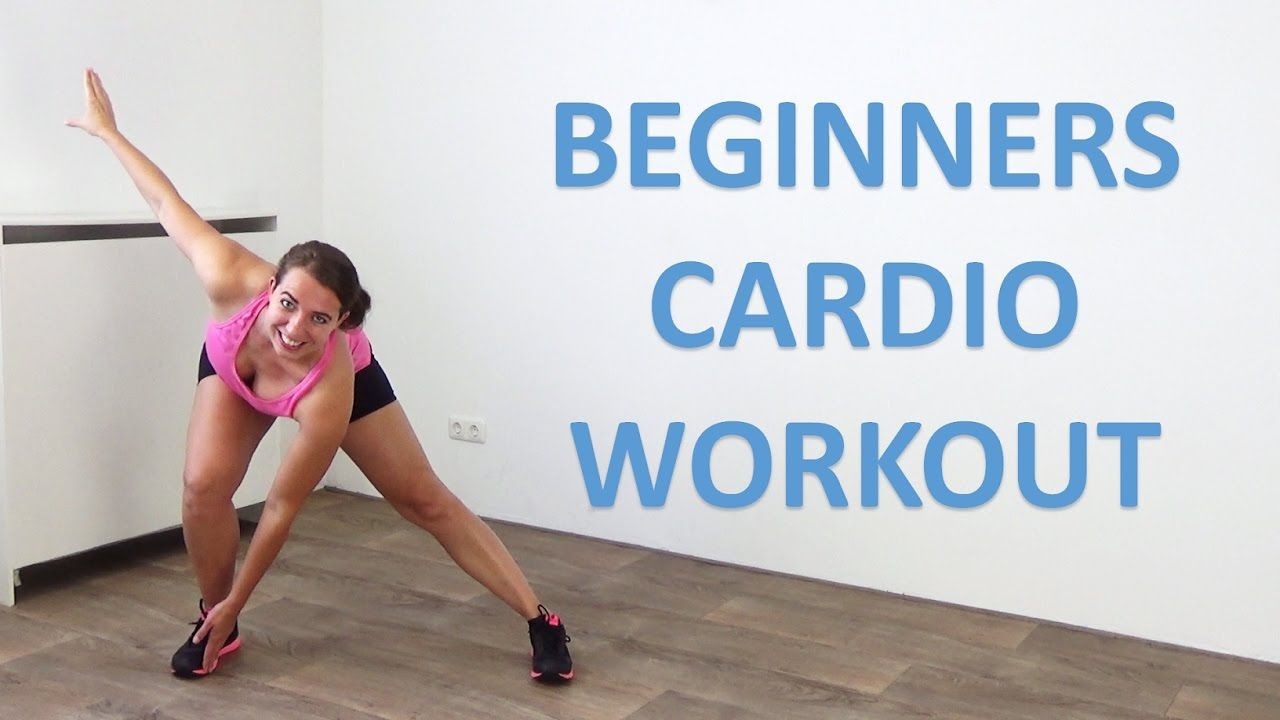 20 Minute Cardio Workout for Beginners – Low Impact Beginner Cardio Exer...