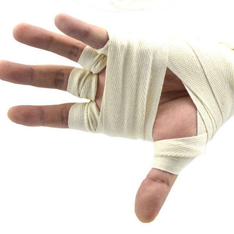2.5m Cotton Bandage Boxing Wrist Bandage Hand Wrap Combat Protect Boxing Kickbox