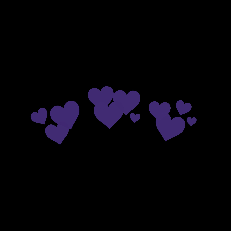 Freetoedit Purple Hearts Snapchat Filter Bynisha Decoration Interesting Art Photography Tumb Overlays Transparent Overlays Tumblr Tumblr Transparents