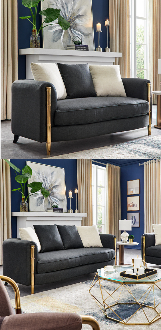The Elegantly Tapered Angles And Deep-filled Back Cushions