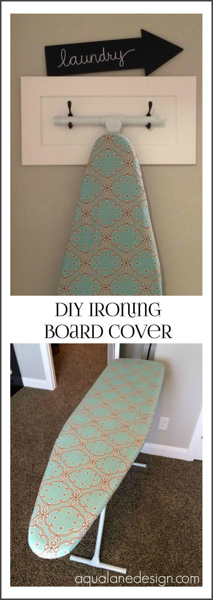DIY Ironing Board Cover. Like the chalk arrow | Diy ...