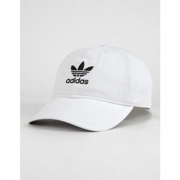 201f8235591 Adidas Originals Relaxed Womens Dad Hat ( 24) ❤ liked on Polyvore featuring  accessories