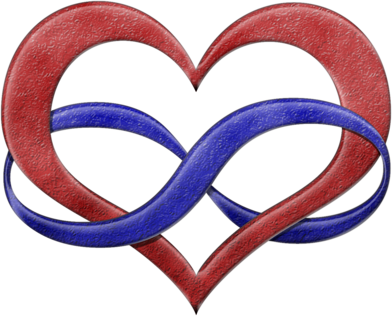 Polyamory pride infinity heart symbol in pride flag colorsd infinity heart shaped symbol polyamory pride fla by biocorpaavc Gallery