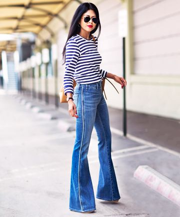 Street style 2017: the flared jeans on Sommergirls Blog