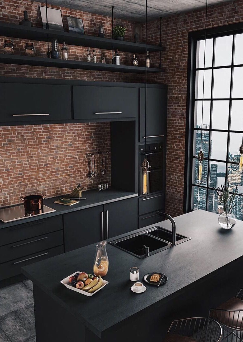 37 Top Kitchen Trends Design Ideas And Images For 2019 Part 9 Kitchen Ideas Kitchen Remode Industrial Kitchen Design Interior Design Kitchen Kitchen Interior