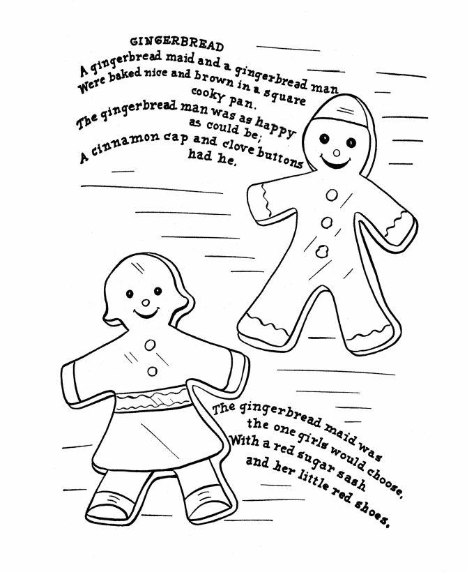 Gingerbread Man Nursery Rhymes Nursery Rhyme Theme Free