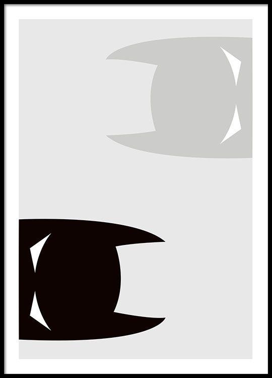 Plakat med Batman