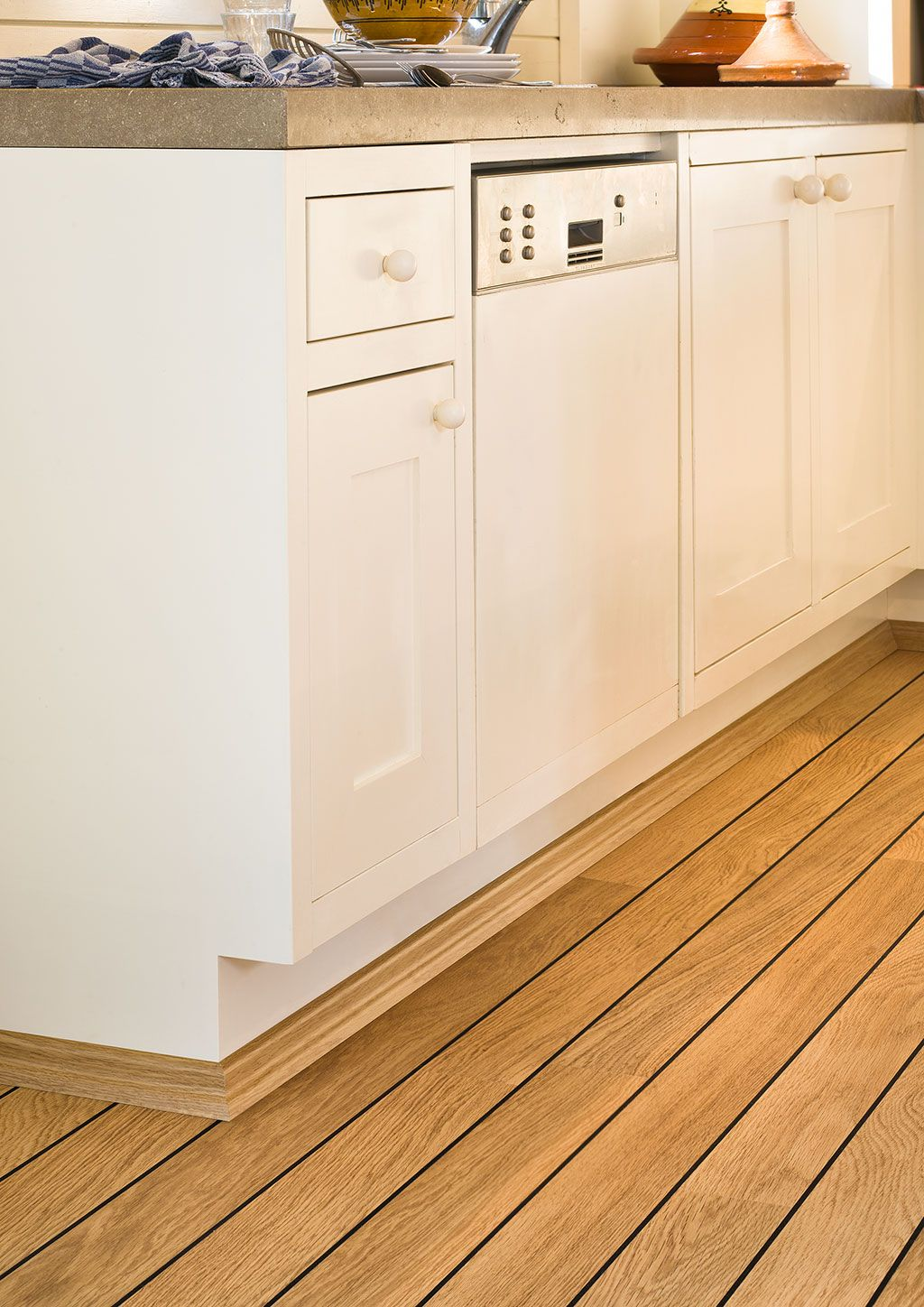 quick-step laminate flooring - perspective 'vintage oak natural