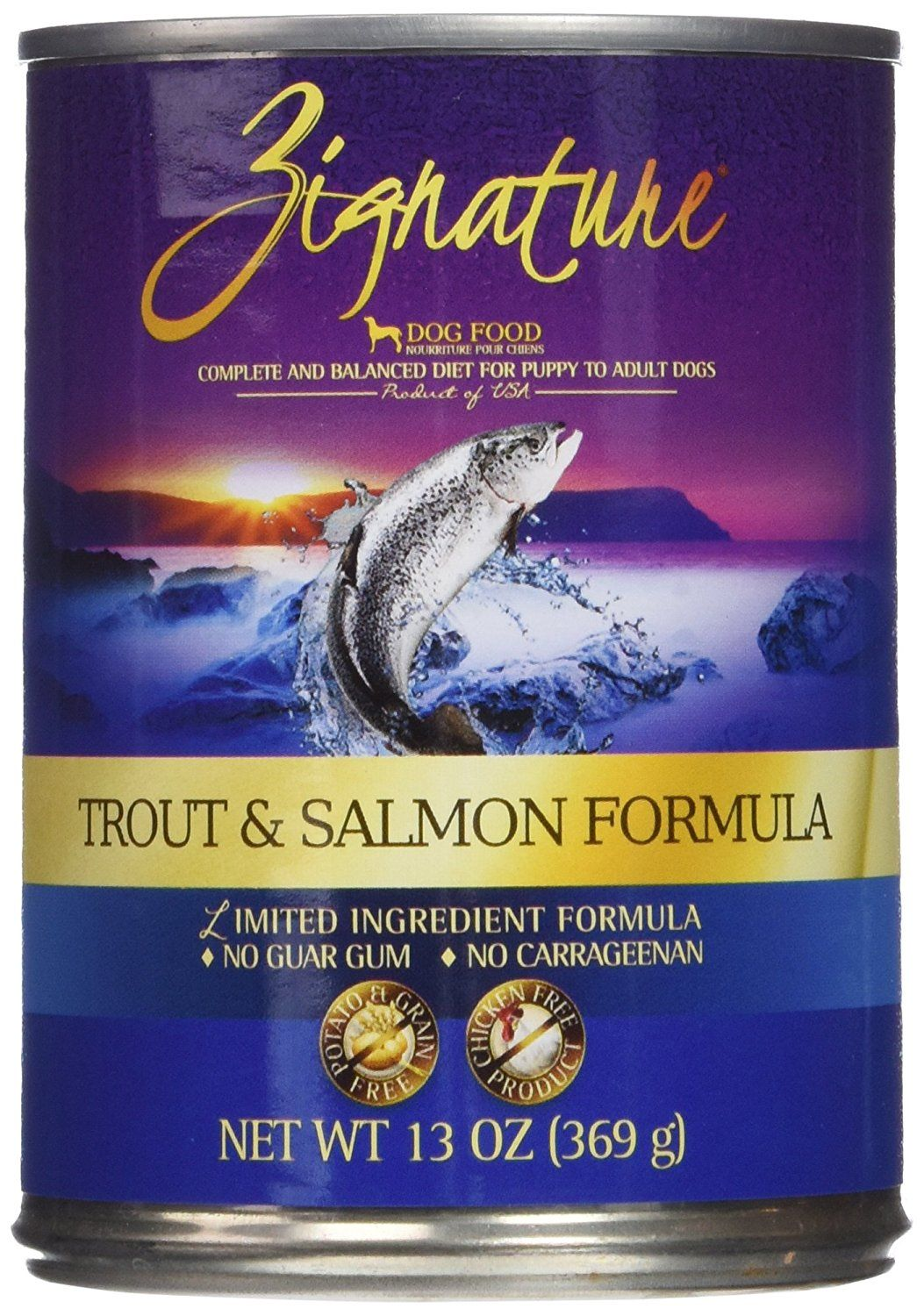 Zignature Trout And Salmon Formula Dog Food One Size See This