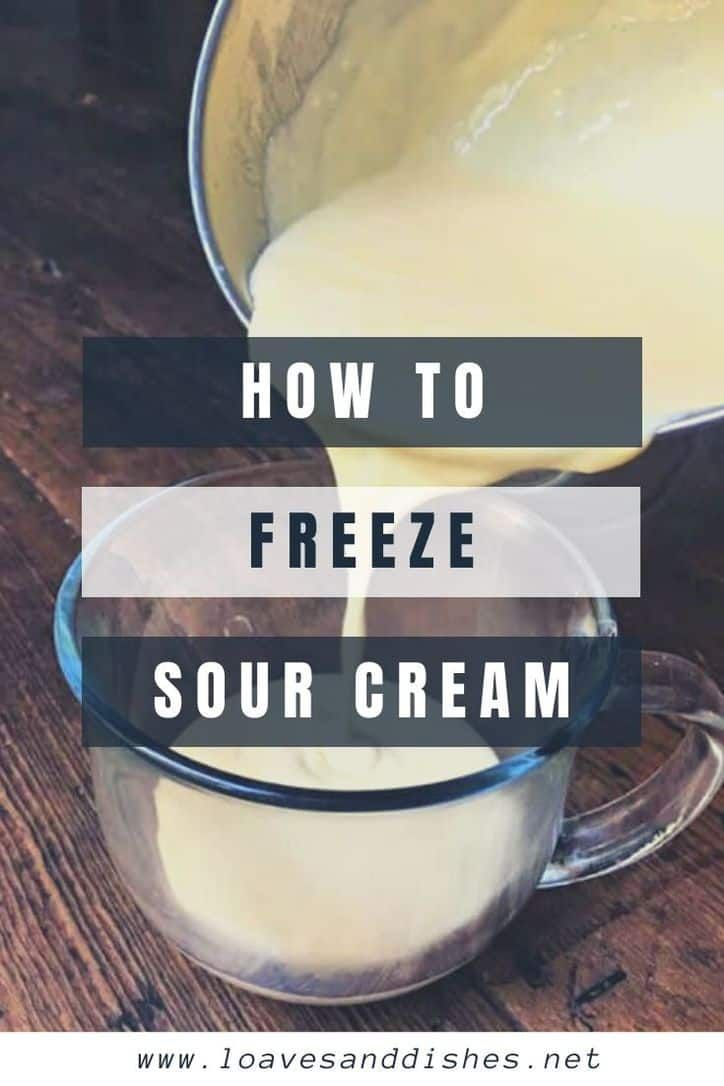 Freezing Sour Cream For Later Is So Very Easy Save A Ton Of Money And Time By Learning How To Freeze Sour In 2020 Sour Cream Leftover Sour Cream Pumpkin Cookie Recipe