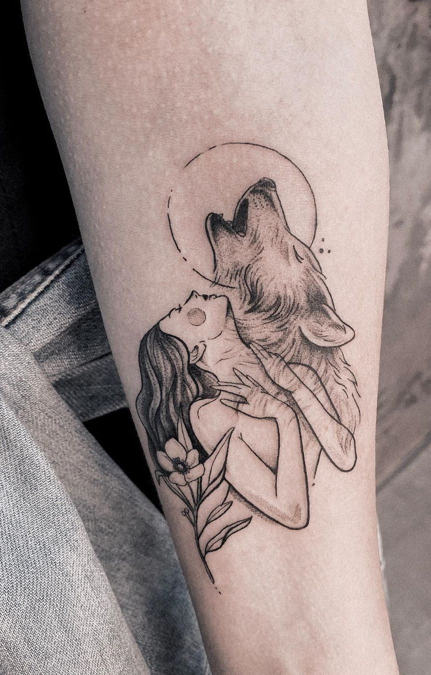 50 Of The Most Beautiful Wolf Tattoo Designs The Internet Has Ever Seen In 2020 With Images Wolf Tattoo Design Wolf Tattoo Tattoo Artists Near Me
