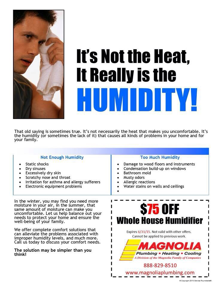 Controlling The Humidity Can Help Your Home Get Comfortable Again