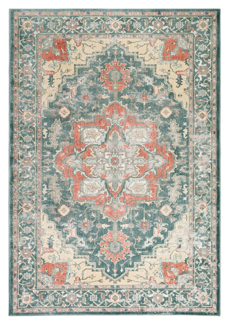 Home Accents Serene 7 10 X 9 10 Area Rug Green Area Rugs