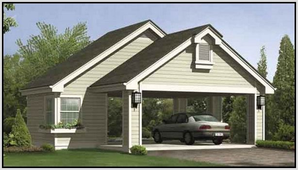 Carport plans or open garage decorations home design for Open carport plans