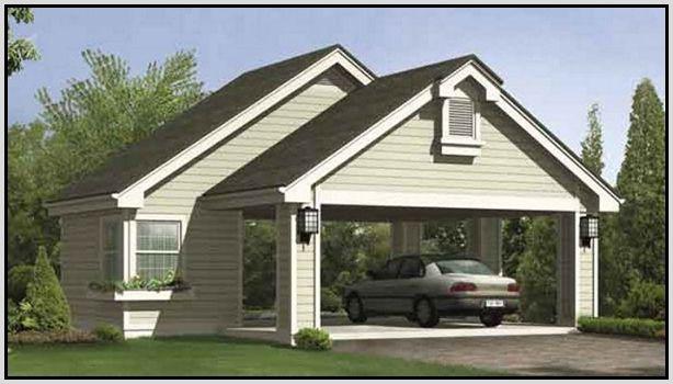Carport Plans Or Open Garage Decorations