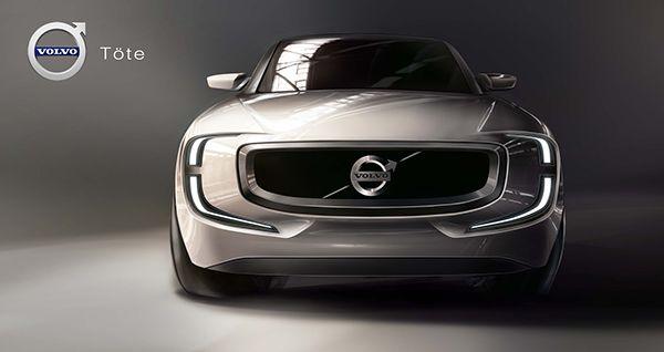 volvo tote on behance car design pinterest volvo cars and rh pinterest com