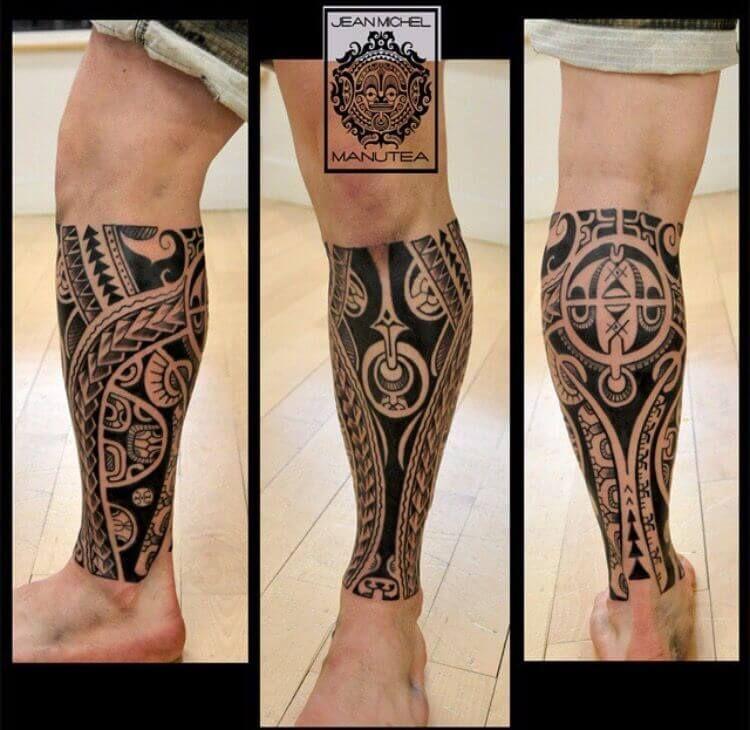 40+ Stunning Hawaiian leg tattoo meanings image ideas