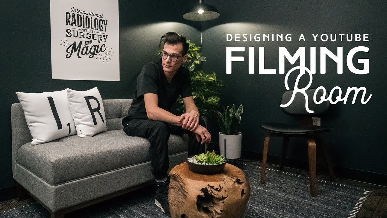 How To Design A YouTube Filming Room   Recording studio design ...