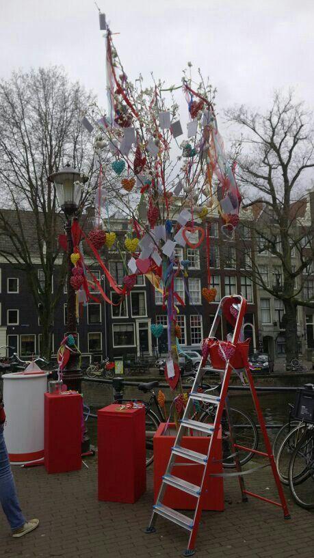 De Harteboom in Amsterdam #aanwiedenkjij