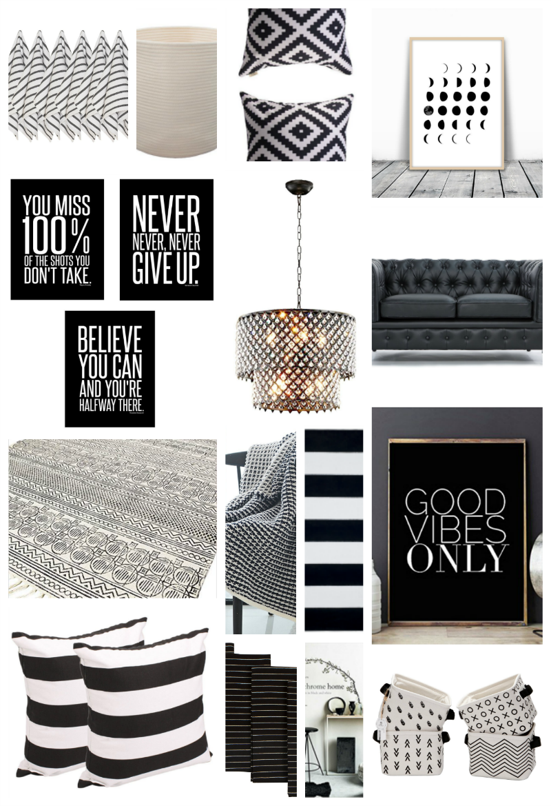 22 Black And White Home Decor Pieces You Ll Love